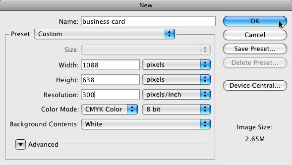 How To Create Business Card International standard size in CMYK in photoshop sinhala
